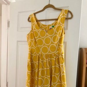 Yellow Vintage-Inspired Dress